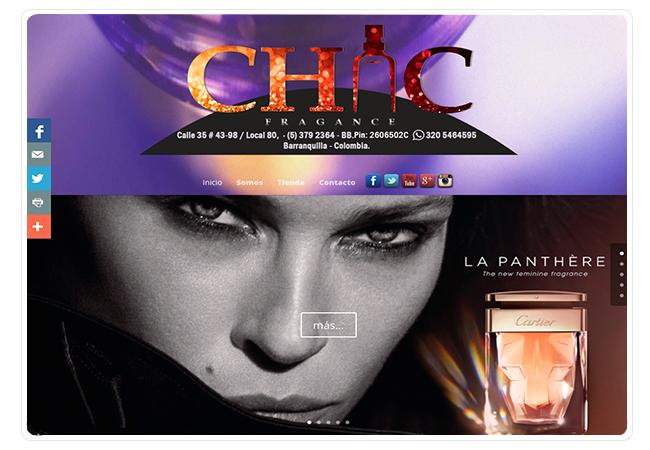 Chic Fragance Perfumería