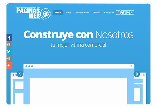 Páginas Web Barranquilla